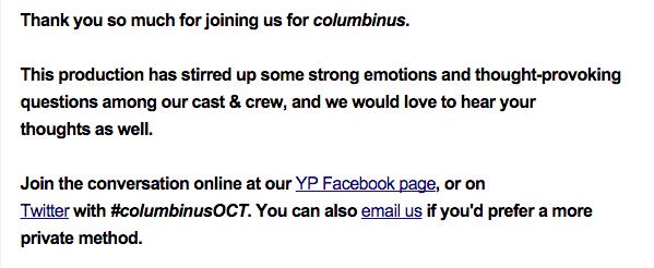 Columbinus email