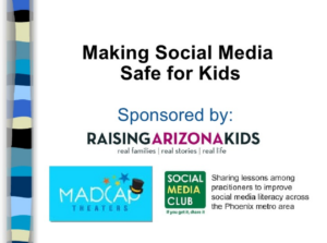 Making social media safe for kids